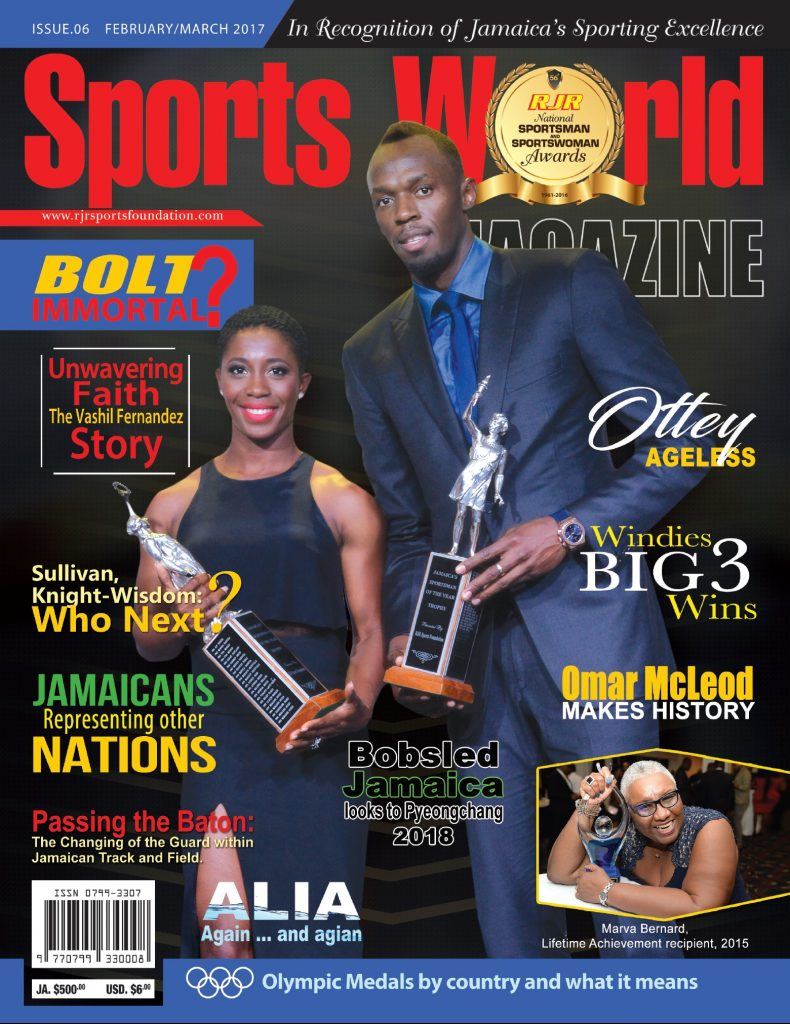 Sports World Issue 6 2017 cover