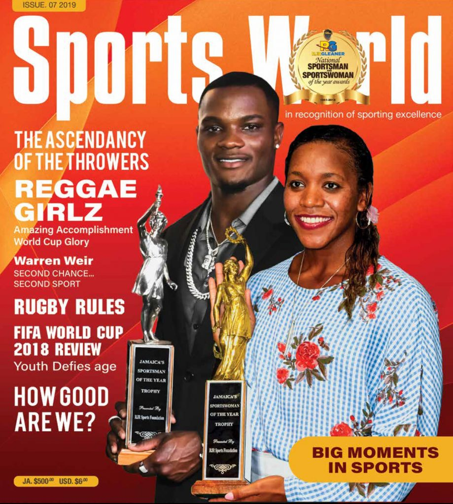 Sports World Issue 7 2019 cover